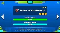"""""""Geometry dash"""" level 18 - Theory of Everything 2 (100%)"""