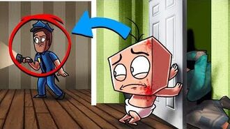 Minecraft Who's Your Daddy Family? Baby Helps Police Find KILLER! (Killer vs Baby)