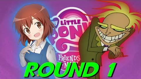 YTP Tennis Rainbow-Dashooie's Cursed Hospital Lamp Round 1 vs