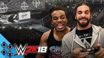 WWE 2K18 SETH ROLLINS & AUSTIN CREED enter the ROYAL RUMBLE! - UpUpDownDown Plays