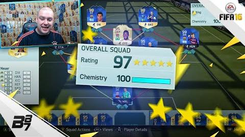 HIGHEST RATED TEAM ON FIFA! 197! FIFA 16