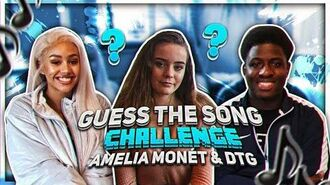 GUESS THE SONG CHALLENGE w Amelia Monét & DTG