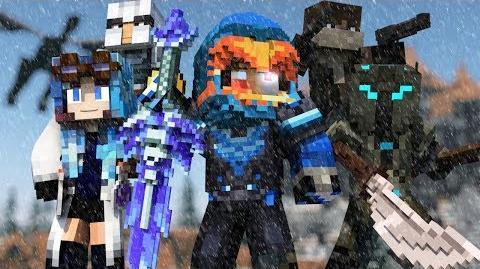 """Cold as Ice"" - A Minecraft Original Music Video ♫"