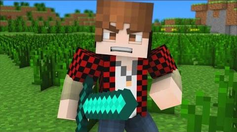 "♪ ""Bajan Canadian Song"" - A Minecraft Parody Song (Music Video)"