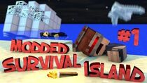 Survival Island Modded - Minecraft The Storm Part 1 (STORY)