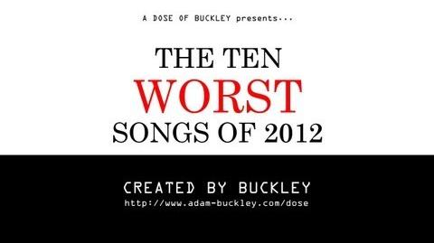 The Ten Worst Songs of 2012