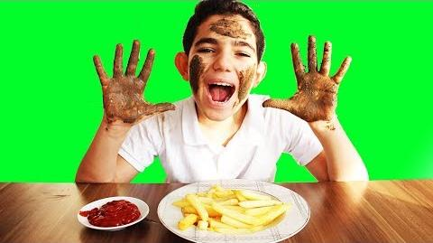 Vlad Wash Your Hands and Face Before Eating!!! Kids Pretend Play Cleaning Training for Children-0