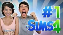 THE BEGINNING! Sims 4 with Zoella 1