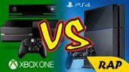 XBOX ONE VS PS4 RAP