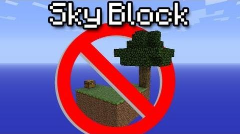 Minecraft Sky Block - How NOT to survive!