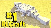 Minecraft But Its MEGA Hardcore - Minecraft RLCraft Modpack 1 JeromeASF