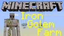 Minecraft - Iron Golem Farm Tutorial Minecraft 1