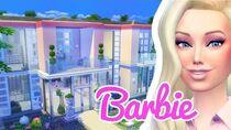 The Barbie Dreamhouse The Sims 4 Build