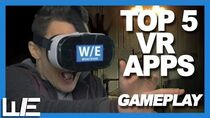 Top 5 VR Apps 2018 (GAMEPLAY)