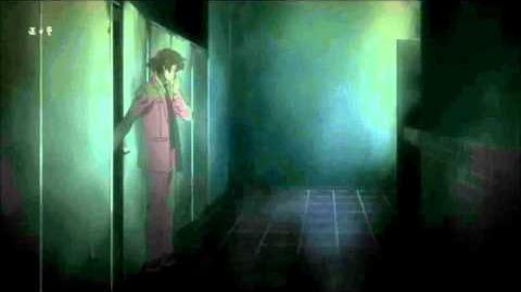 Mirai Nikki Episode 10 Toilet scene