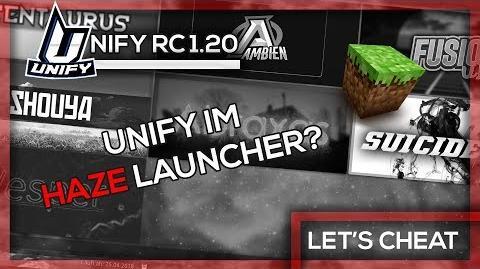 Video Unify Kommt In Den Client Launcher Lets Cheat GommeHD - Minecraft server erstellen wie gommehd
