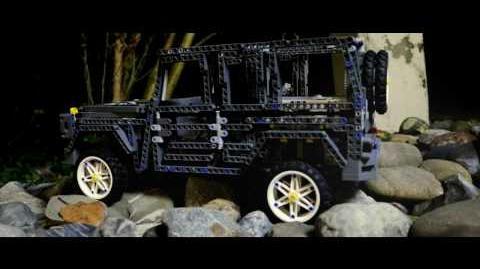 Mercedes Benz G-Klasse - Lego Mindstorms EV3 Advanced Robotics