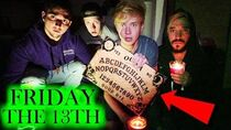 BREAKING ALL RULES OF THE OUIJA BOARD on FRIDAY THE 13TH 3 AM CHALLENGE