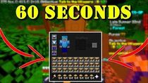 HOW TO GET AN OP AXE! -FULL INVENTORY 60 SECONDS- MINECRAFT HYPIXEL SKYBLOCK