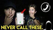 CALLING TERRIFYING PHONE NUMBERS pt