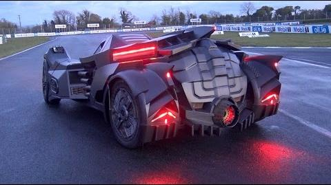 The NEW Team Galag Batmobile Gumball 3000 2016