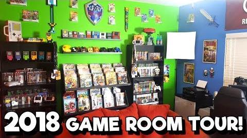 2018 Game Room Tour! - 30 Unique Platforms, 1500 Games! Nintendrew