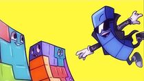 Tetris RAP ANIMATED! The Long Piece is the BEST PIECE!! - (Animated by TopSpinTheFuzzy and Lady Red)