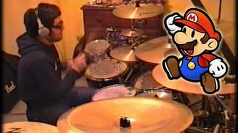 Vadrum Meets Super Mario Bros (Drum Video)