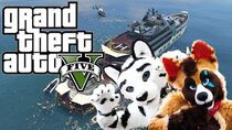 GTA V Online Funny Moments - Cash, New Yacht and a Broken Green Screen