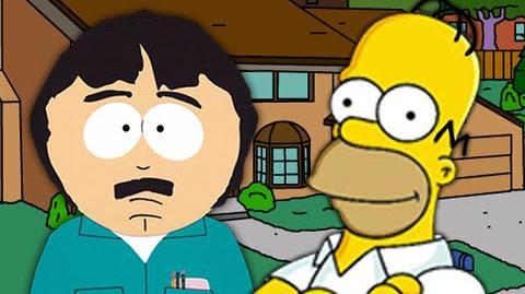 Homer Simpson vs Randy Marsh. Epic Rap Battles of Cartoons Season 3
