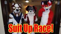 Fursuit Suit Up Race (w Myron & Majira)