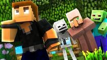 Grown man plays Minecraft for the first time..