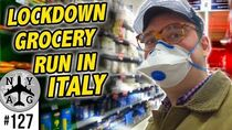 Grocery Shopping During The Coronavirus Situation in Italy
