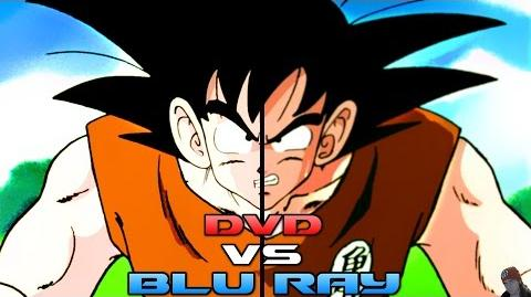 Review Dragon Ball Z Blu Ray vs DVD Quality Comparison