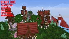 Minecraft NERO Stadt Rot