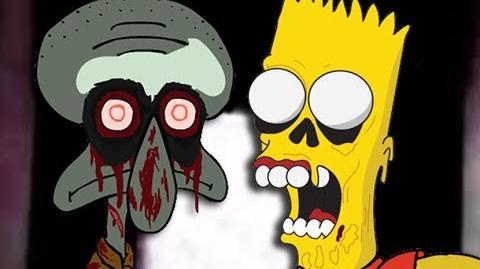 Squidward's Suicide vs Dead Bart