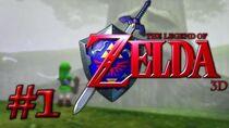 The Legend of Zelda Ocarina of Time 3D - Part 1 - The Deku Tree