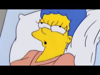 Marge Rehearses with Ned