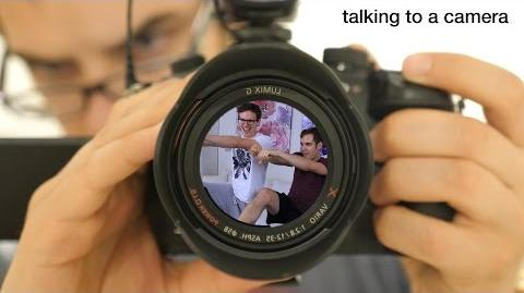 We're all just assholes talking to a camera