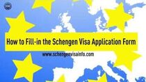 How to Fill-in the Schengen Visa Application Form