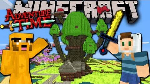 Minecraft Adventure Time! Map Quest with Jake in Ooo - Ep