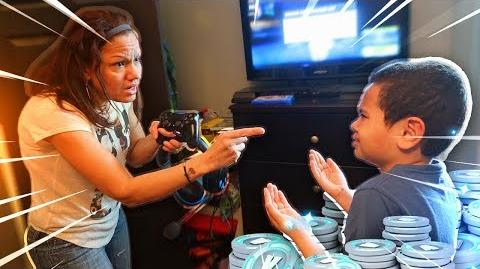 Mom tells 9 year old kid he cant play fortnite ever again..