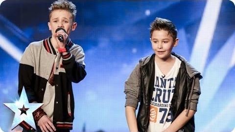 Bars & Melody - Simon Cowell's Golden Buzzer act Britain's Got Talent 2014