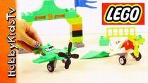 LEGO Disney Planes-Ripslinger's Air Race & Chupacabra Duplo Toy Open by HobbyKidsTV