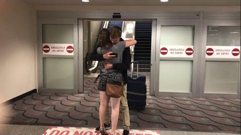 MEETING FOR FIRST TIME AT THE AIRPORT! - Long Distance Relationship Goal!