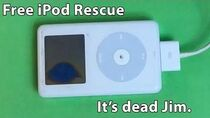 I was given a free iPod, can it be fixed?