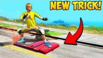 *NEW TRICK* SURF ON A CAR DOOR in GTA!! BCC Grand Theft Auto