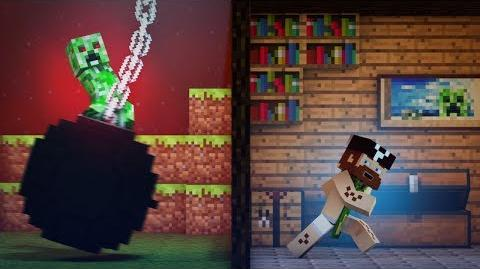 """♫ """"Wrecking Mob"""" - A Minecraft Parody of Miley Cyrus' Wrecking Ball"""