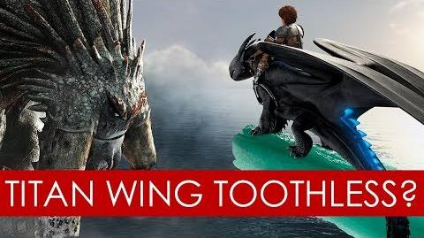 Is Toothless a Titan Wing? THEORY How to Train Your Dragon