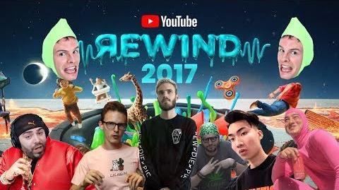 THE REAL YOUTUBE REWIND 2017 ft pewdiepie, iDubbbzTV, RiceGum, h3h3, Keemstar, FilthyFrank
